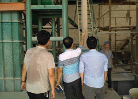 Korea Customers Visit Our Factory In Xinmi