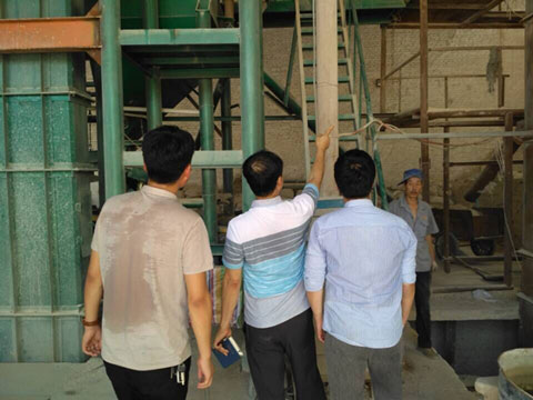 Korea Customers Visit Our Factory In Xinmi