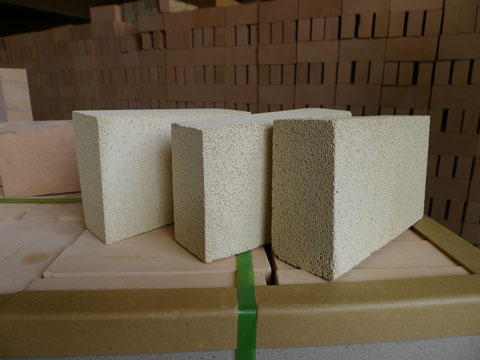Low Price High Alumina Lightweight Insulation Fire Bricks In RS Factory
