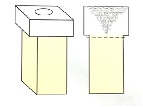 Quasi-non-shrinkage Cavity Casting