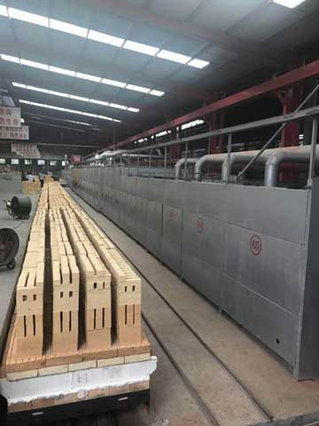 RS Production Line In Professional Refractory Factory
