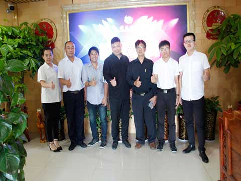 Thailand Customers Visiting RS Company With Our Staff
