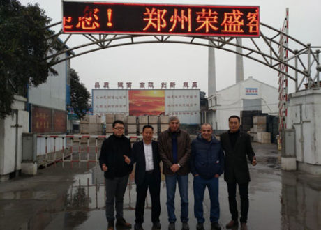 Turkey Customer Visiting Our Factory - RS Company
