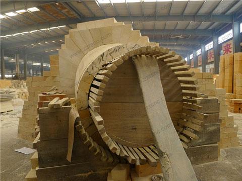 Cheap Kiln Bricks For Blast Furnace In RS Factory