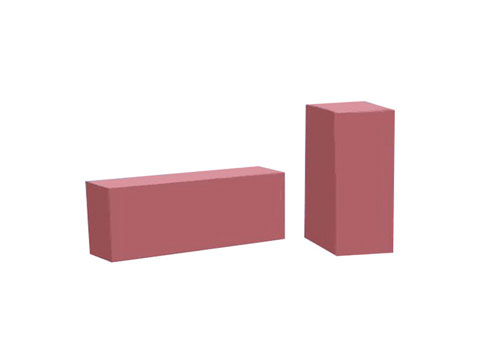 Cheap Chrome Corundum Brick For Sale In RS Factory