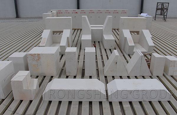 AZS Bricks for Glass Furnaces