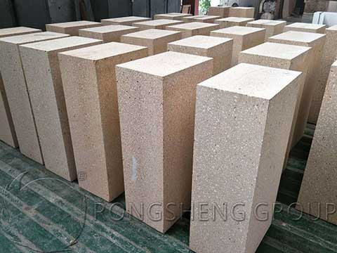 Large Fire Clay Bricks for Glass Kiln